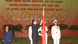 Hà Nội trang trọng Lễ kỷ niệm 60 năm ngày Giải phóng Thủ đô