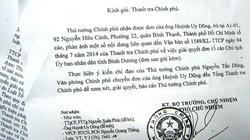 """Thủ tướng chỉ đạo làm rõ vụ ông Dũng """"lò vôi"""" tố cáo Chủ tịch tỉnh Bình Dương"""