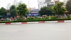 Hàng chục quái xế đua xe dưới chân cầu Sài Gòn