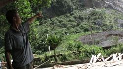 Thái Nguyên: Khai thác đá phá nhà dân