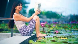 """Cô gái Phan Lily và giấc mơ """"tặng cần câu"""" trên cù lao An Bình"""