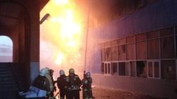 Cháy khu thương mại của người Việt ở Nga
