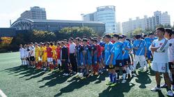 Sinh viên Việt Nam tại Hàn Quốc sôi nổi với giải bóng đá Mùa thu Ajou 2014