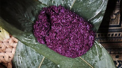 Sắc tím trong món ăn vùng Tây Bắc