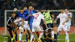 Cầu thủ choảng nhau kinh hoàng khiến trận Serbia - Albania bị hoãn