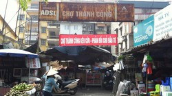 Tiểu thương chợ Thành Công phản đối xây trung tâm thương mại