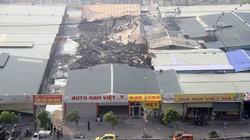 Chùm ảnh: Đột nhập hiện trường vụ cháy khu nhà xưởng sau Keangnam
