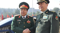 Bộ trưởng Phùng Quang Thanh hội kiến Phó Chủ tịch Quân ủy TW Trung Quốc