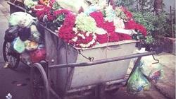 Hậu 20.10, hoa tươi ngập tràn... xe rác