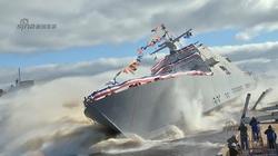 Mỹ hạ thủy tàu chiến ven biển LCS-7 Detroit