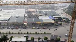 Soi quy hoạch khu đất sau tòa nhà Keangnam xảy ra cháy lớn