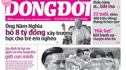 """Đón đọc """"Thâm nhập công ty cho thuê người yêu, người mẫu lớn nhất Việt Nam"""" trên Dòng đời số 14 ra ngày 25.10"""