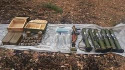 Ukraine phát hiện kho vũ khí lớn gồm súng phóng lựu, đạn dược nghi của ly khai