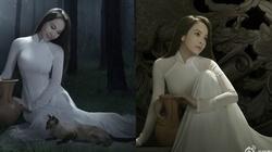 Người mẫu Việt diện áo dài đẹp mê hồn gây sốt truyền thông Trung Quốc