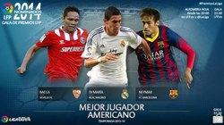 Di Maria được đề cử giải thưởng Cầu thủ xuất sắc nhất La Liga