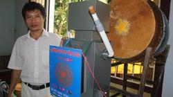 Thầy giáo Vĩnh Long sáng chế robot đánh trống có một không hai