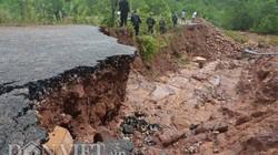 Cận cảnh nước cuồng phá, khoét đập tan hoang ở Quảng Ninh