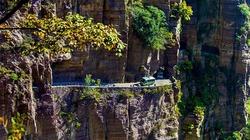 Đường hầm nguy hiểm nhất thế giới được xây dựng như thế nào?