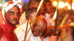 Hãi hùng lễ hội tắm máu rửa tội của tín đồ Hồi giáo