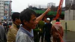 Nhân chứng kể lại vụ đứt cáp cẩu thi công đường sắt gây chết người tại Hà Nội