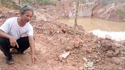 Cận cảnh moong đất sét gây họa cho dân tại Quảng Ninh