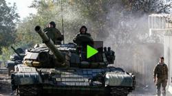 Quân đội Kiev, ly khai Đông Ukraine đấu xe tăng ở ngoại ô Donetsk