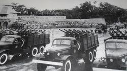 Oai hùng cuộc diễu binh lịch sử của QĐND Việt Nam năm 1955