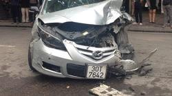 """Hà Nội: Xế hộp lao điên loạn trên phố, """"hạ gục"""" hàng loạt ô tô, xe máy"""