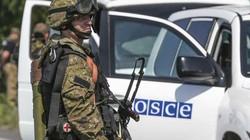 OSCE lại phát hiện thêm hai đoàn xe mang tên lửa, trọng pháo gần Donetsk