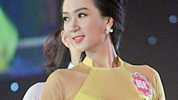 Cận cảnh nhan sắc của thiếu úy công an đi thi Hoa hậu