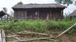 Cảnh hoang vắng, tàn tạ khó tin ở làng văn hóa Đồng Mô