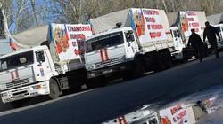Nga tiếp tục đưa đoàn xe nhân đạo mới tới Donbass