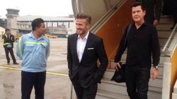 Phí dịch vụ 2 ngày David Beckham thăm Việt Nam: Sơ sơ cũng tiền tỷ