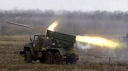 Quân ly khai dùng rocket đa nòng tấn công dữ dội Ukraine