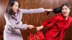 Hai phụ nữ dùng guốc đánh nhau, tranh người tình trên máy bay Vietnam Airlines