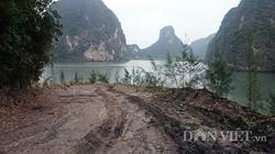 Núi đá vùng đệm di sản vịnh Hạ Long bị tàn phá đến mức nào?