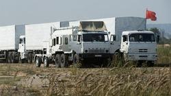 """Kiev tố 106 xe tải Nga xâm nhập miền Đông Ukraine """"trái phép"""""""