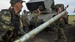Quân đội Ukraine bị tên lửa Grad tấn công tới tấp gần Mariupol
