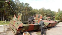 """Cận cảnh Ukraine hồi sinh pháo tự hành """"Hoa cẩm chướng"""""""