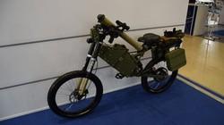 Xe đạp siêu tốc điện tích hợp vũ khí khủng của quân đội Nga