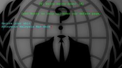 Hàng chục trang web Việt Nam bị hacker Malaysia tấn công