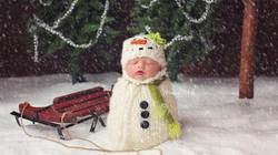 """Bộ ảnh bé yêu ngày Giáng sinh khiến cư dân mạng """"điên đảo"""""""