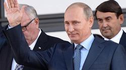 Người dân Nga bầu chọn Tổng thống Putin là Nhân vật của Năm