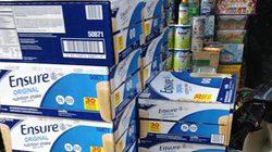 Sữa lậu bày bán công khai