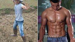 Chàng trai luyện bụng 6 múi với 50.000 đồng/ngày