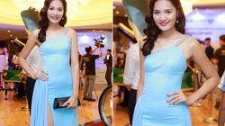 Hoa hậu Hương Giang gợi cảm với váy xẻ cao