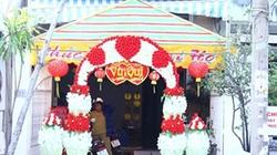 Cận cảnh nơi tổ chức tiệc cưới của Thủy Tiên - Công Vinh
