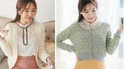 Áo khoác nhẹ cực xinh cho mùa đông bớt giá lạnh