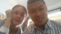 Hình ảnh cầu thủ U19 VN lãng mạn bên bạn gái