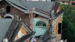 9 ngày sau vụ sập biệt thự cổ: Vẫn ngổn ngang gạch vữa